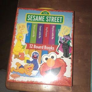 Sesame Street - 12 Board Books